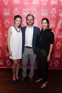 Carolina & Nelson Hincapie (President and CEO of Voices For Children) and Yolanda Berkowitz