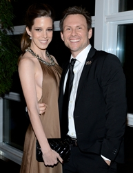 Brittany<br /> and Christian Slater