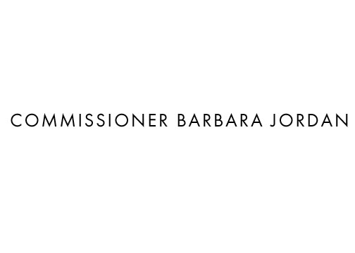 COMMISIONER BARABARA JORDAN